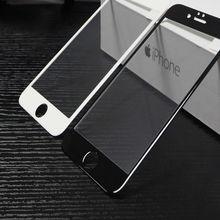Protección 10D de vidrio para el iPhone 6 negro unicornio de la cubierta completa pantalla protector vidrio templado para iPhone 6