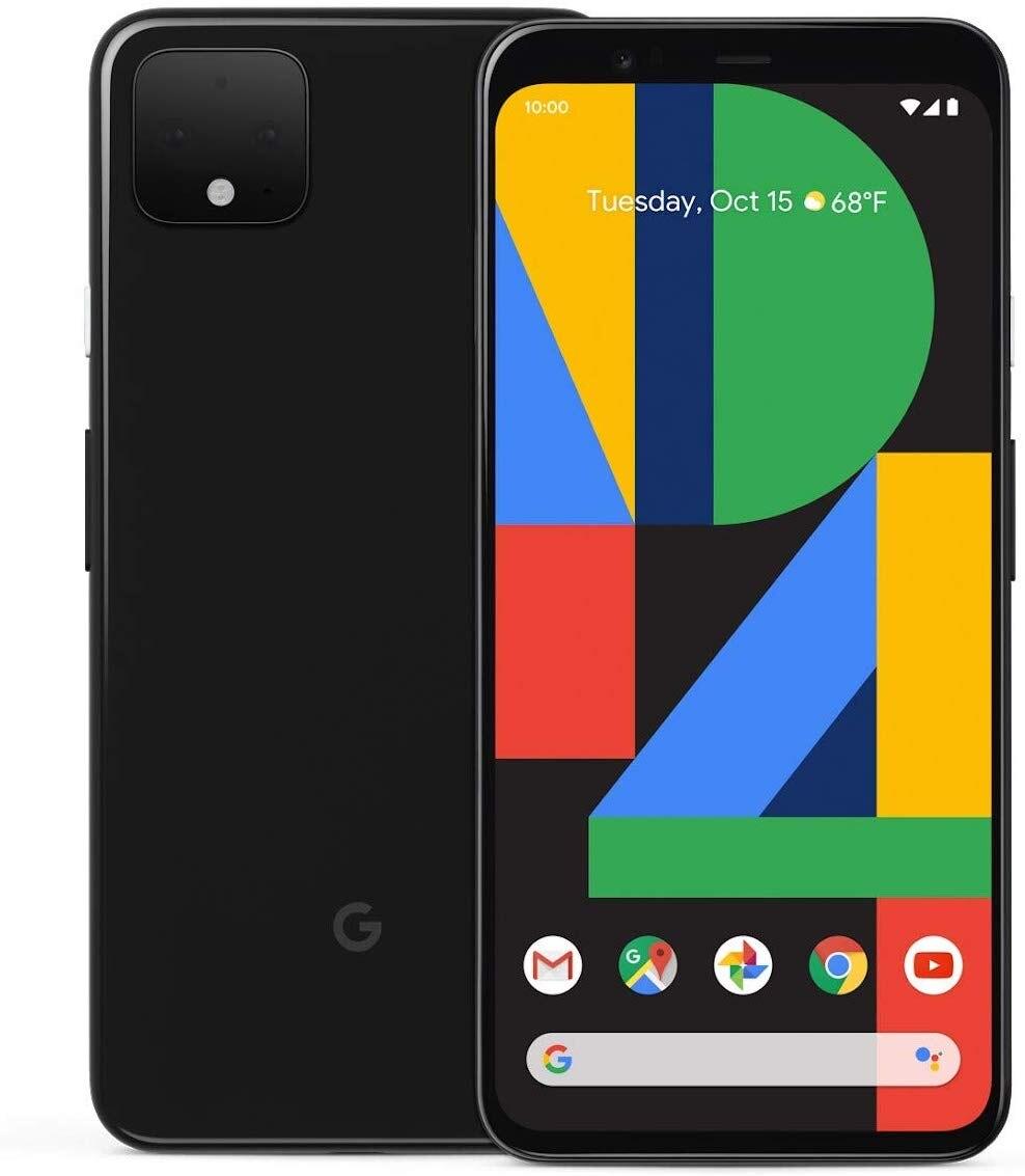 """Teléfono Google Pixel 4 XL, Color Negro (Black), Pantalla OLED de 6,3"""" (16 cm),  6 GB de RAM, 64 GB de Memoria Interna,"""