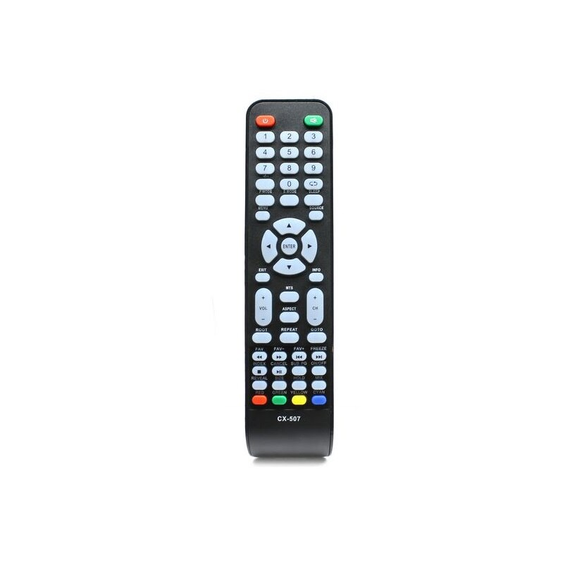 Controle remoto para tv erisson CX-507, erisson 19lee01, akai LEA-19E17P, hyunday H-LED15V13 lcd tv helix, telefunken, dns
