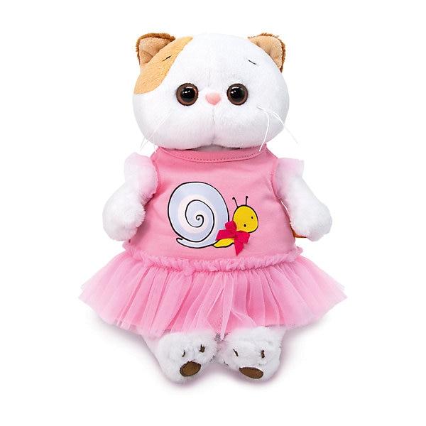 "Juguete suave Budi Basa Kitty li-li en un vestido con un estampado ""snail"", 24 cm"