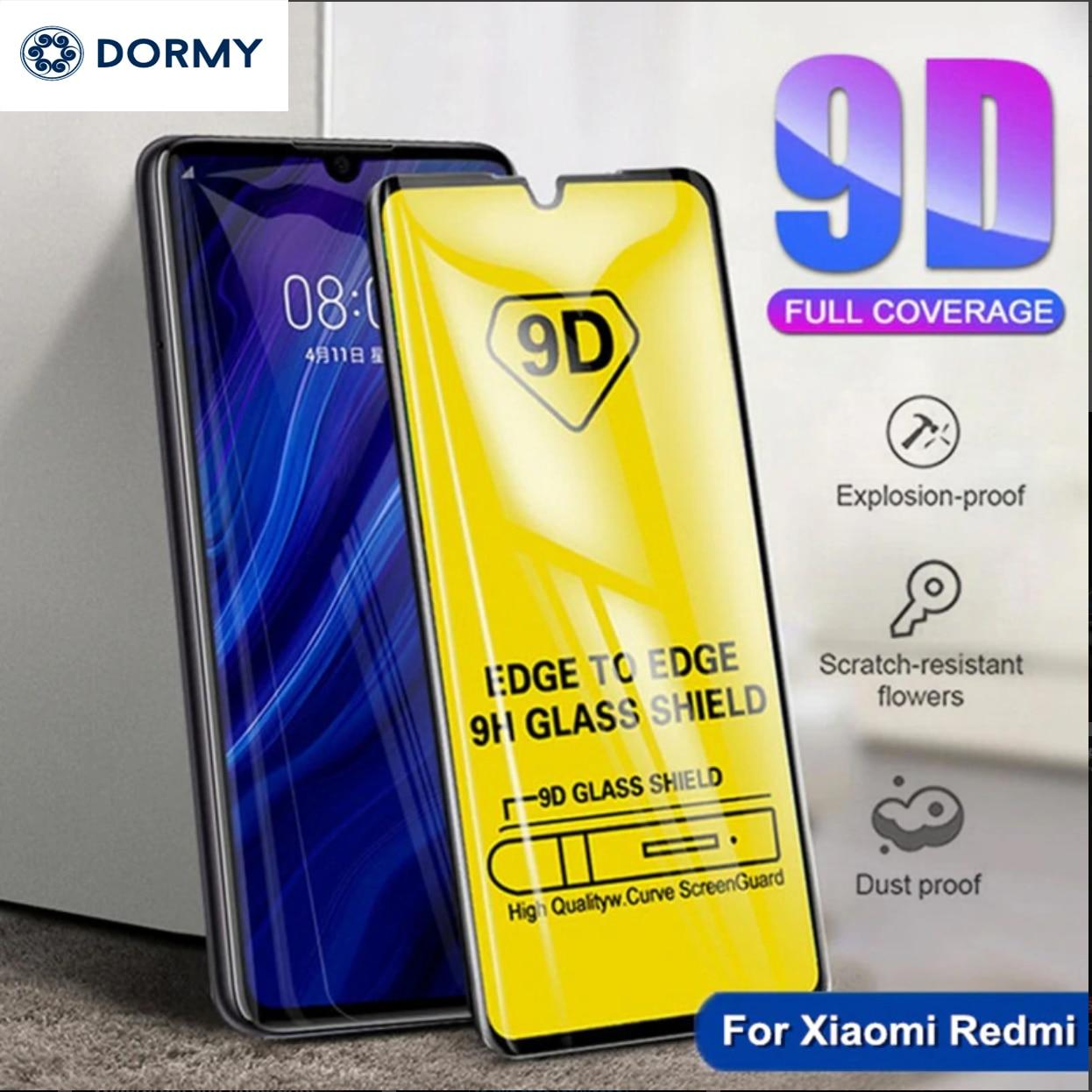 3D закаленное стекло для Xiaomi Redmi 7 7A 6 6A K20 Pro 5 Plus Redmi Note 5 5A 6 7 pro Защитная пленка для экрана