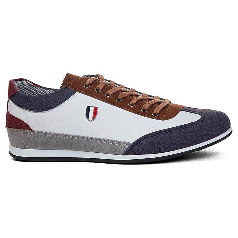 حار بيع! الرجال جلد الغزال عادي نعل حذاء بو ، عالية الجودة الفاخرة حذاء رجالي حجم 40-44 CONTEYNER711 دروبشيب تعكس مخزن