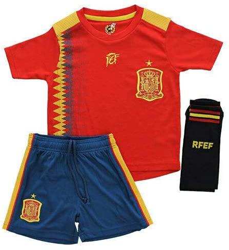 AliExpress - EQUIPACION INFANTIL Spanish selection of official football REPLICA 3 pieces