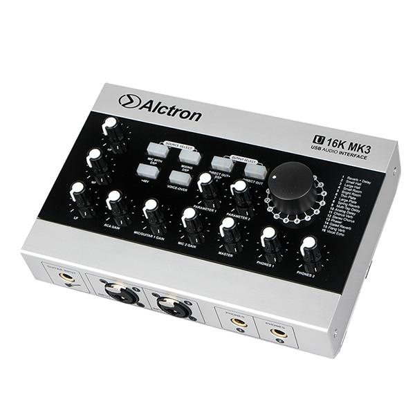 U16k-mk3 de interfaz de audio USB alctron