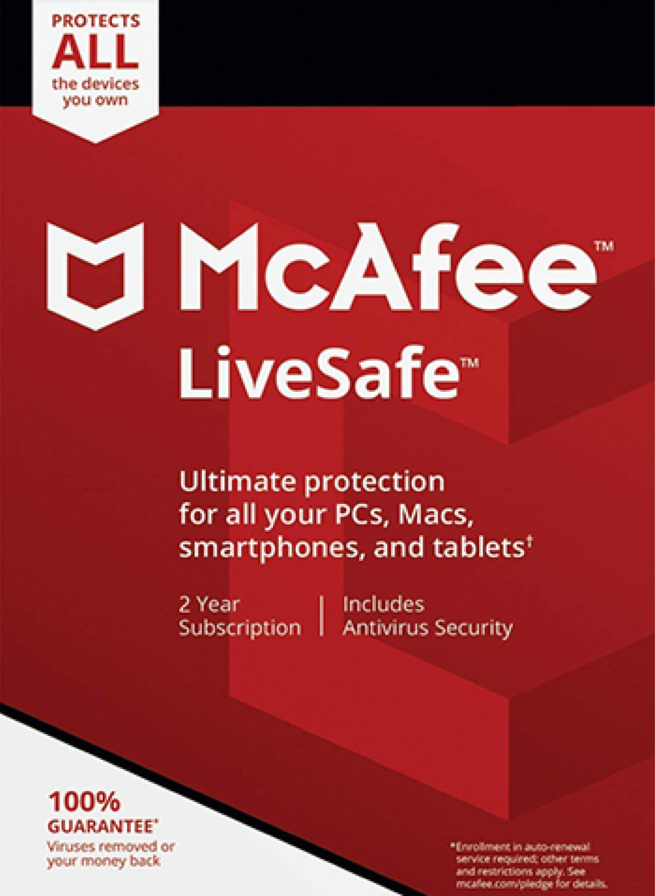 McAfee 2021 Anti-virus Fast delivery 2 Year License Key For Windows/Mac
