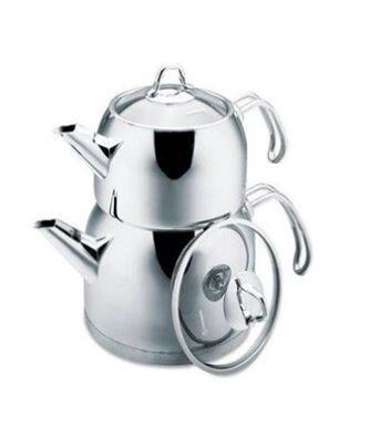 كوركماز بروفيتا ماكسي مجموعة براريد للشاي | الشاي التركي | سخان مياه | ابريق الشاي الساخن
