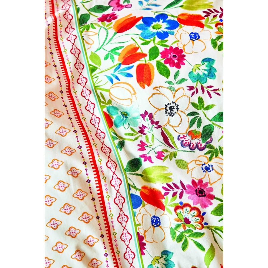 Karaca Home Parlin Fuchsia Double Duvet Cover Set enlarge