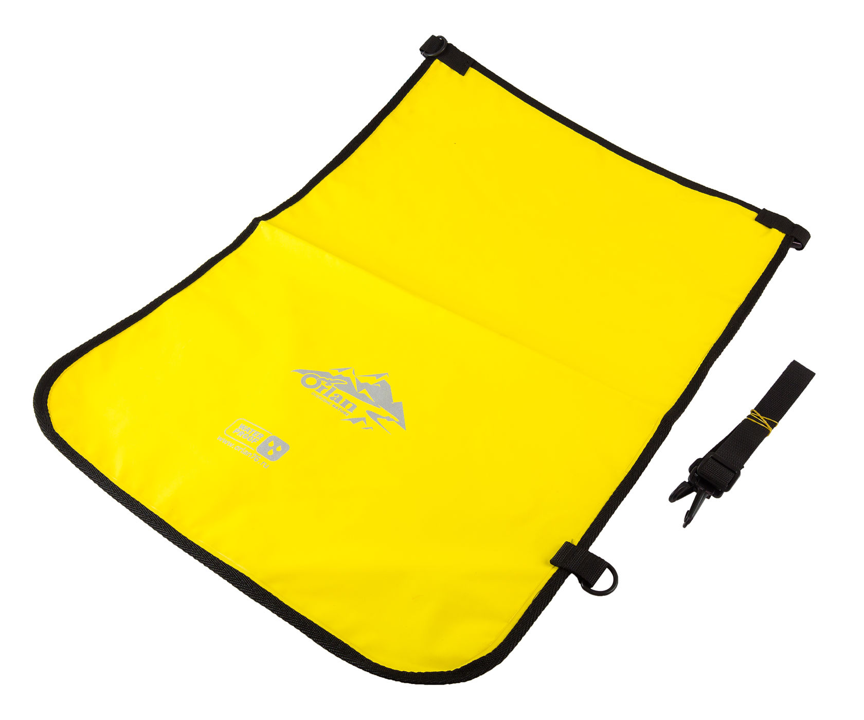 Herrobag compacto de PVC fundido 30 l, amarillo