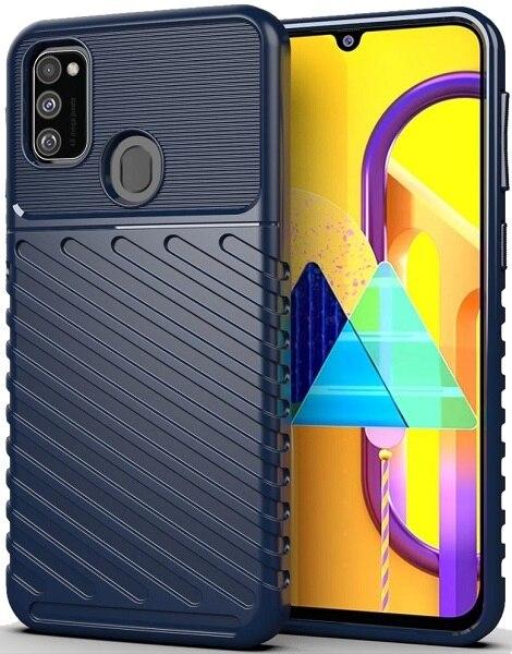 Funda Samsung Galaxy m30s color azul (azul), serie Onyx, caseport