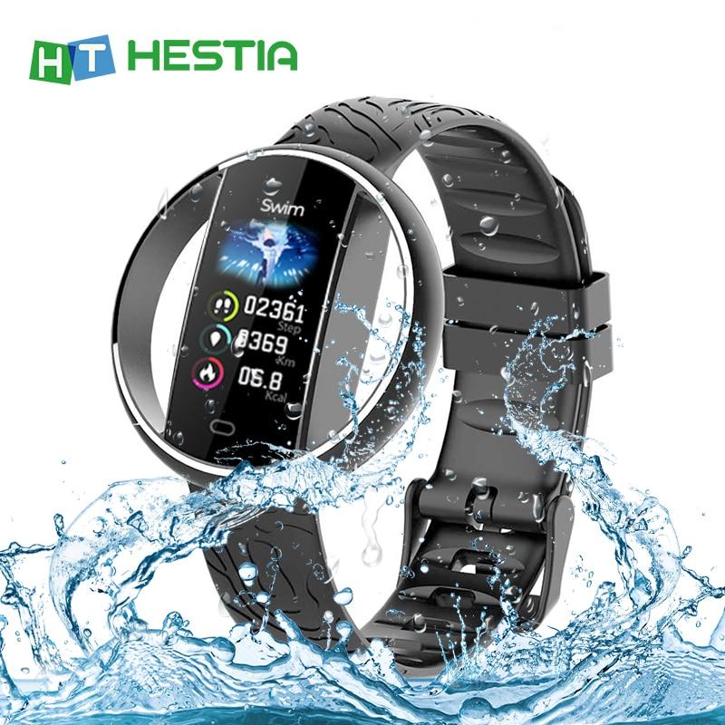 Pulsera inteligente E99 con medición de presión monitorización de ritmo cardíaco reloj a prueba de agua pulso de presión pulsera deportiva de varias esferas