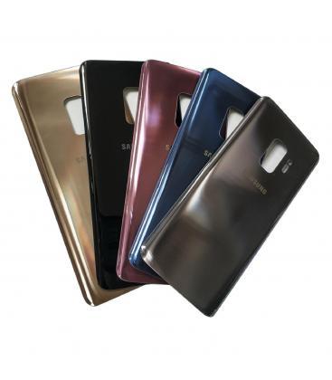 Tapa trasera de bateria cristal trasero pour Samsung Galaxy S9 G960F