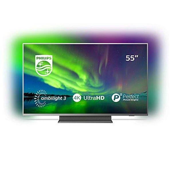 "Smart TV Philips 55PUS7504 55 ""4 K Ultra HD LED WiFi Ambilight Grey"