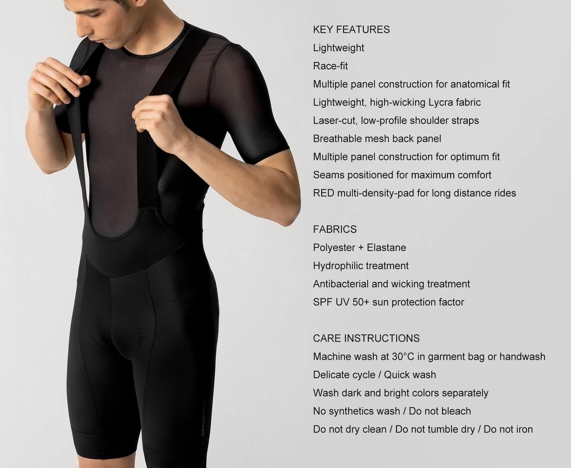 Culotte de ciclismo para hombre, pantalones cortos de equipo profesional, pantalones con...