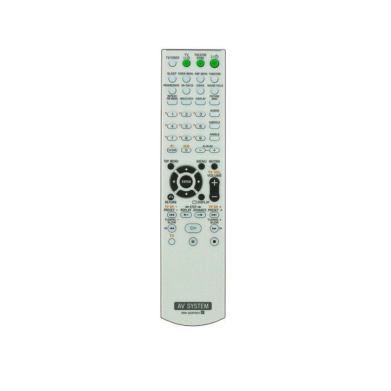 Télécommande Sony RM adp001 DVD, dav-dz100, dav-dz200, dav-dz300, dav-dz500f, dav-dz700ew, dav-dz700fw,