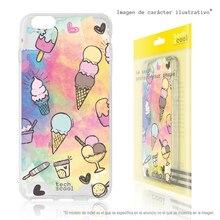FunnyTech®Support étui pour Xiaomi Silicone note redmi 8T l Mini glace-fonds artistique