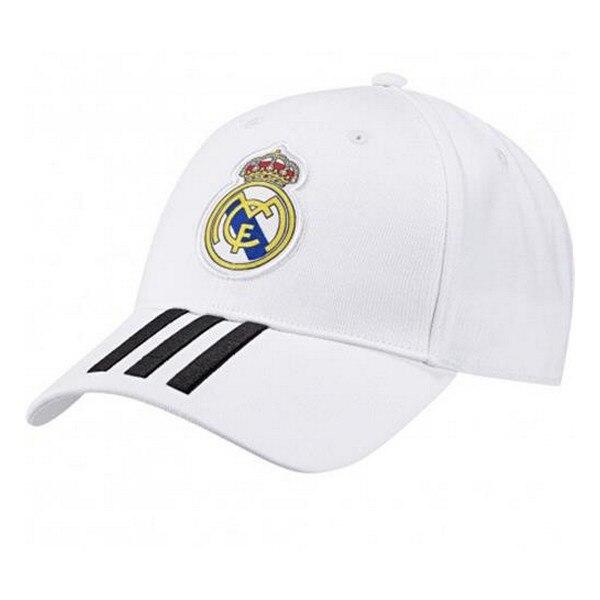 Gorra Deportiva Adidas Real Madrid 3 Stripes Blanco