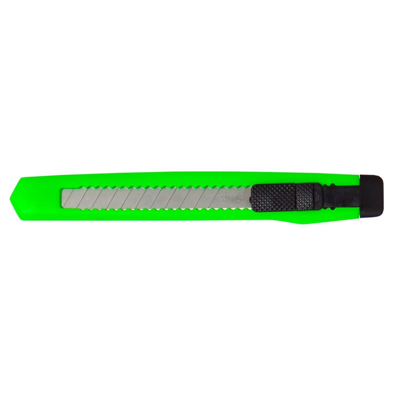 Couteau papeterie hatber leader push-lock 9mm 9DP _ 01009