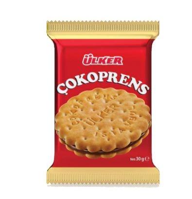 Ülker Çokoprens Bisküvi 24 x 30 G   FREE SHİPPİNG