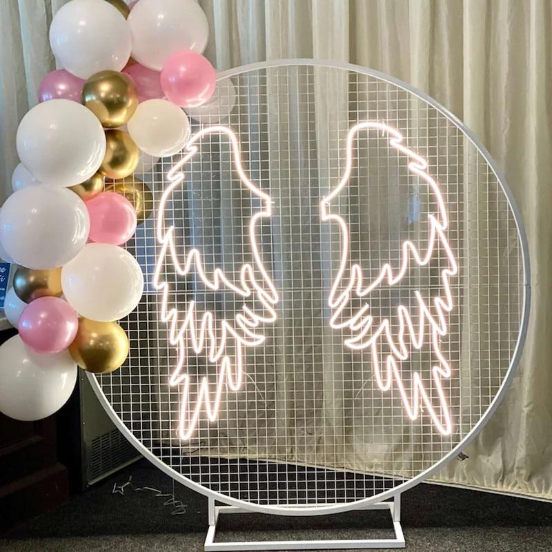 Аngel Wings Neon Sign Custom Neon Sign Fex LED Neon Light Sign Wedding Decor Party Decor Store Bar Decor Photo zone