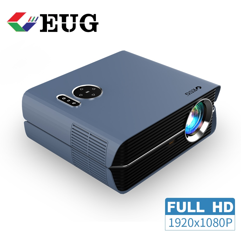 Full Hd 1080P Projector Beamer Home Theater Wireless Airplay 6000 Lumens Android Video Led 800DAB Fr