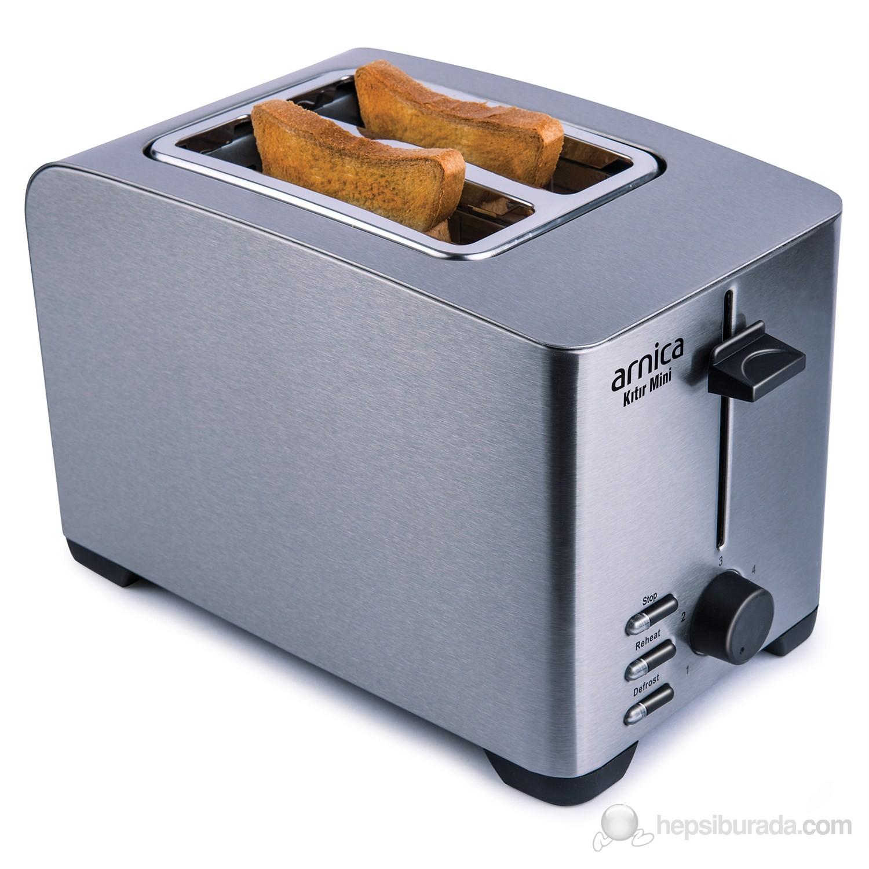 Kıtır Mini 2 Dilimli Paslanmaz Çelik Ekmek Kızartma