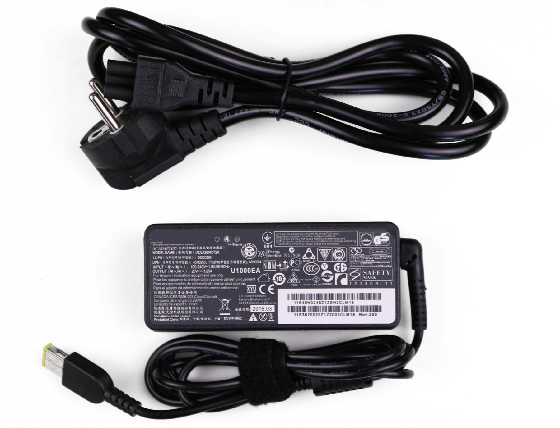 Блок питания Lenovo ThinkPad S431 (зарядка)