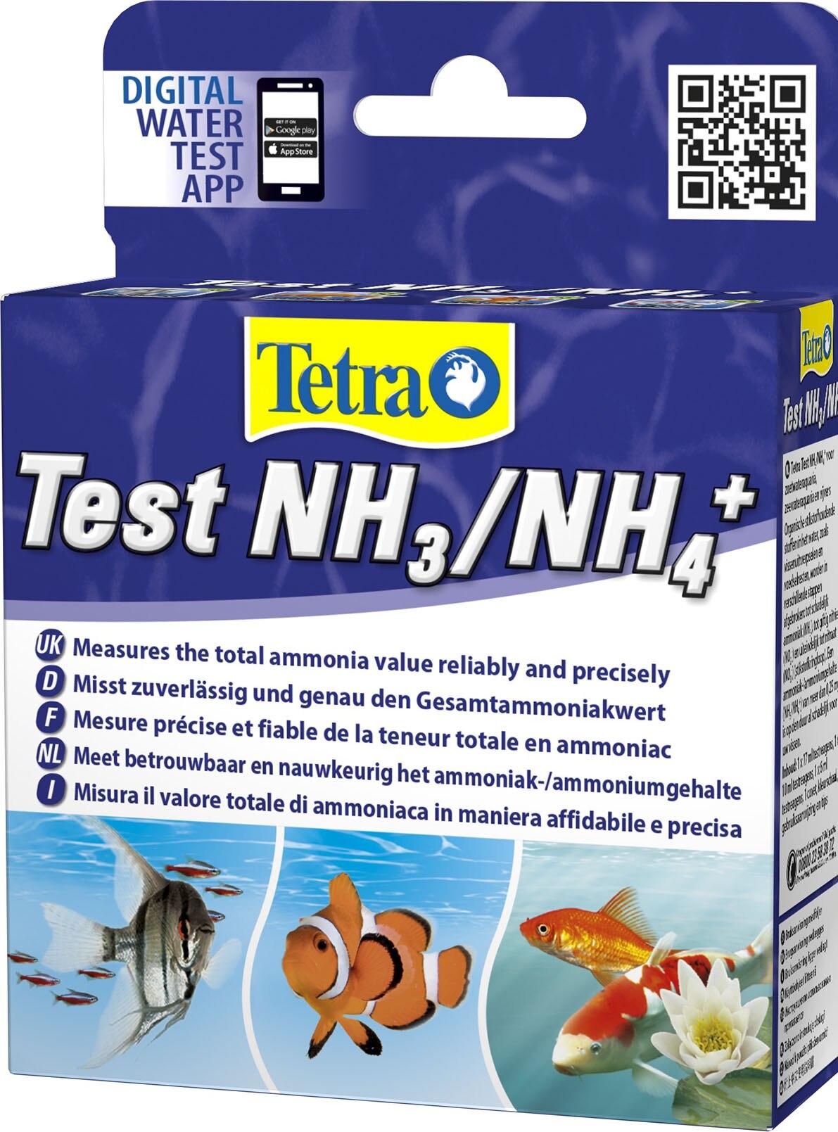 Test de Tetra NH3/NH4 para agua