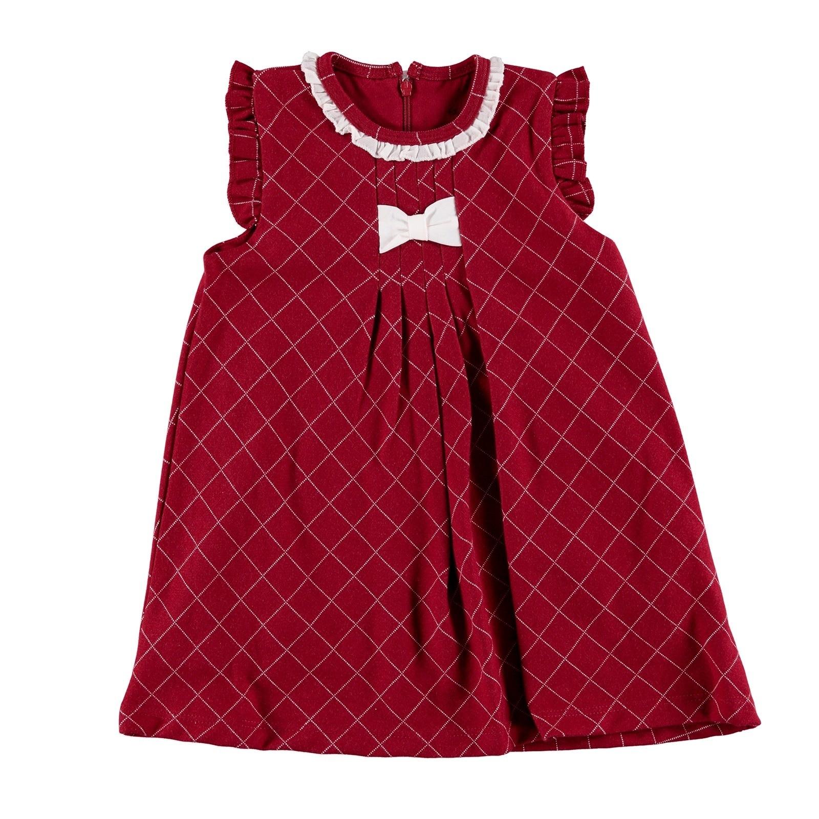 ebebek For My Baby Tale Ruffled Collar Bow Detail Sleeveless Dress