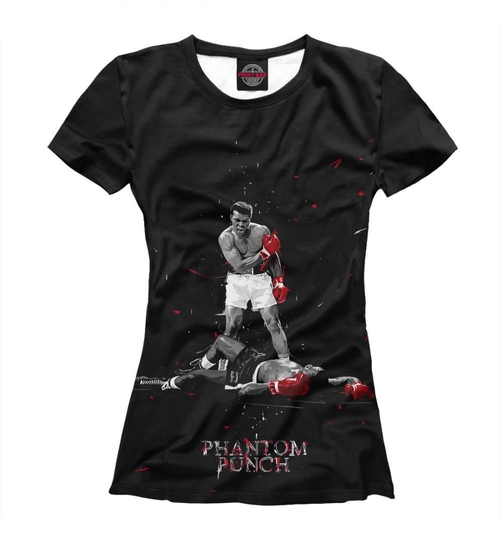 Camiseta de mujer Muhammad ali-phantom Punch