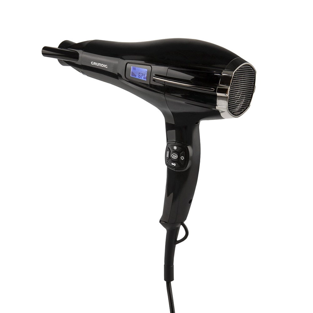 Grundig Sensor 2200W Hair Dryer,Professional AC Motor,5 Temperature, 5 Speed Settings,Cold And Hot Weather,For Hair,Dryer Brush enlarge