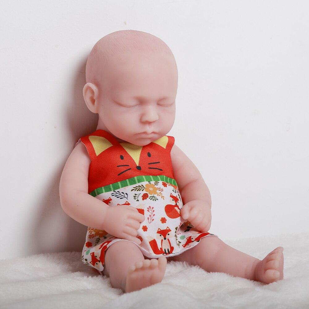 リボーン人形リボーンシリコーン31センチメートル105キロ100-シリコーンベベリボーン人形現実的な赤ちゃんのおもちゃ子供のおもちゃ子供のギフト-08