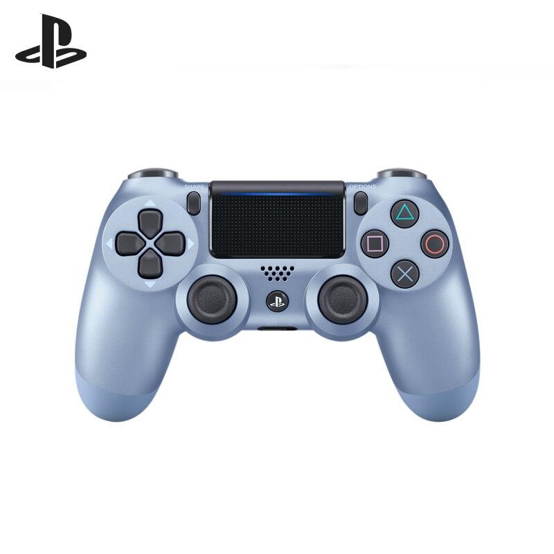 Controlador inalámbrico de Gaming de titanio azul (DualShock 4 con azul de titanio CUH-ZCT2E SCEE)