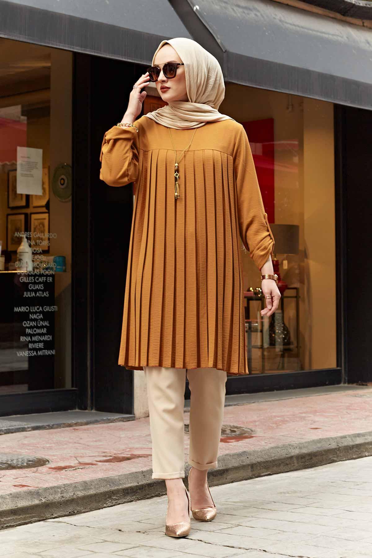 Женская одежда мусульманская Туника Платье piliseli цвета Турция Дубай scraft Топ мусульманская Арабская Американская Одежда