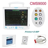 hot contec cms9000 multi parameter patient monitor medical machine spo2 heart rate monitor with ibp and printer