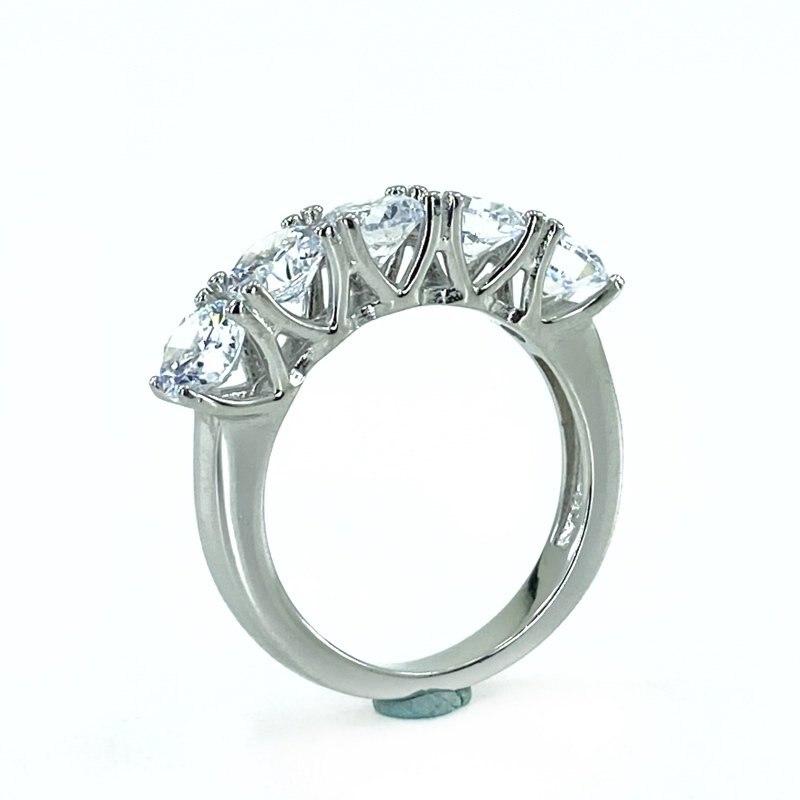 Swarovski Model High Sparkle Dibs Silver Ring