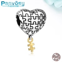 2021 new charms silver 925 orginal fashion heart beads for women jewelry making designer lucky trinkets accessories zircon bead