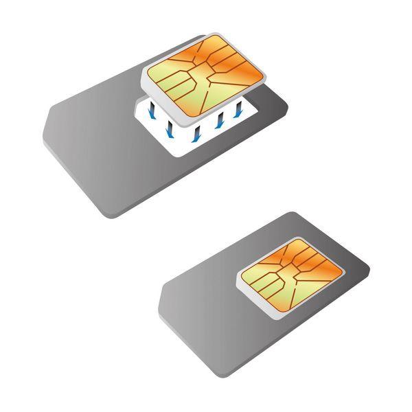 Nano SIM zu SIM Karte Adapter KSIX