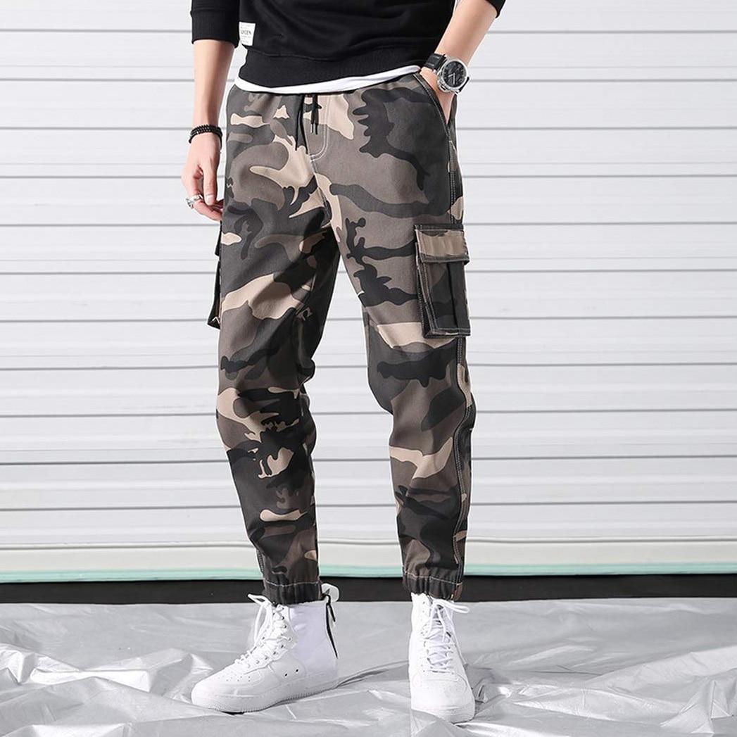 Pantaloni Cargo mimetici da uomo pantaloni militari tattici da esterno pantaloni Casual da Jogger Streetwear pantaloni da uomo pantaloni in cotone taglia grande 7XL