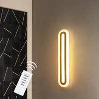 define aisle ceiling light modern wall lamp with remote control living room bedside bathroom cloakroom wash basin mirror lights
