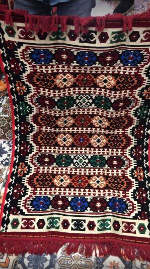 شرابة محبوك السجاد التركي لغرفة المعيشة الكليم سجادة قطنية مستطيل منطقة البساط يدوية الصنع السجاد بوهيميا ماندالا فلورا