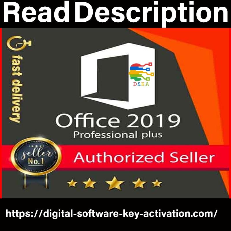 Microsoft office 2019 professional plus key