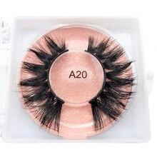 Shegoal Mink Lashes Natural False Eyelashes 3D Layered Effect Real Siberian Mink Fur Fake Eyelashes