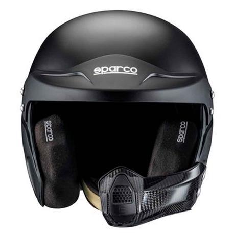 Casco de moto Sparco Air Pro Rj-5I Kevlar/Fiberglass Fia Tg. S negro