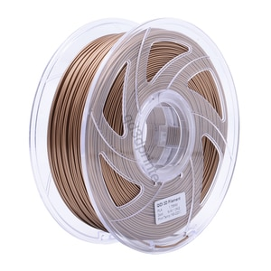 QIDI TECH High Quality Gold Color 3D Printer Filaments Plastic Rubber Consumables Material,1.75mm PLA