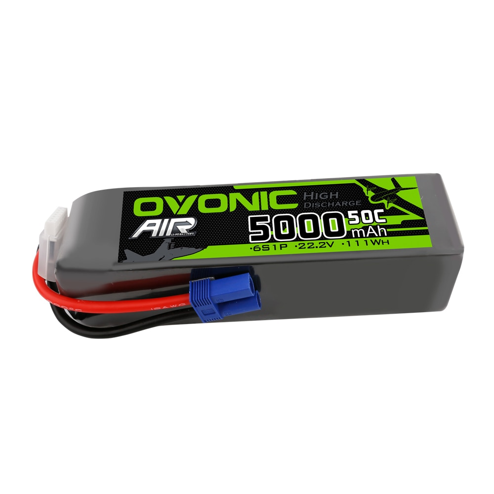 Ovonic 5000mah Lipo 6S 22.2V 50C Lipo Battery Pack With EC5 Plug For Arrma RC Car Boat Truck Heli Airplane Quadcopter Helicopter enlarge