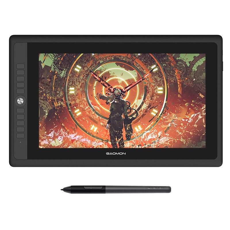 """GAOMON PD156PRO grafik Tablet ekran çizim 15.6 """"tam lamine IPS HD ekran ile 8192 seviyeleri pil ücretsiz kalem"""