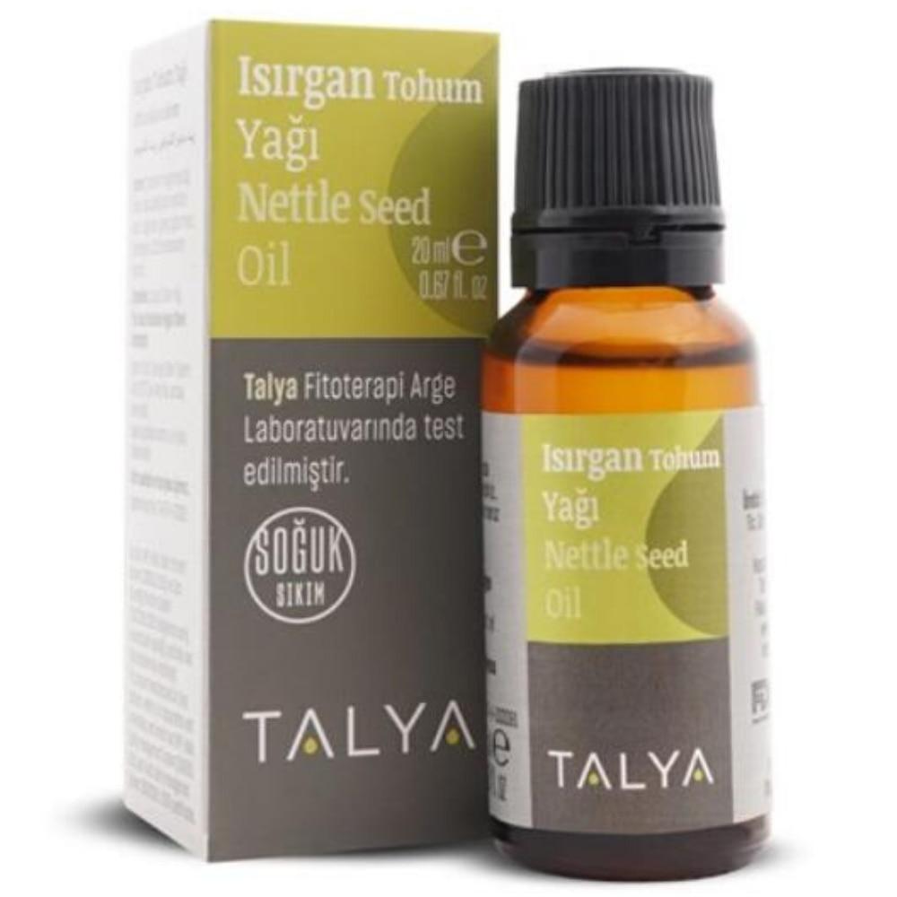 Prensa fría aceite de semilla de ortiga 20 ml efecto mágico aceite esencial yeso Herbal antiséptico remedio natural toxina cuidado de la piel próstata