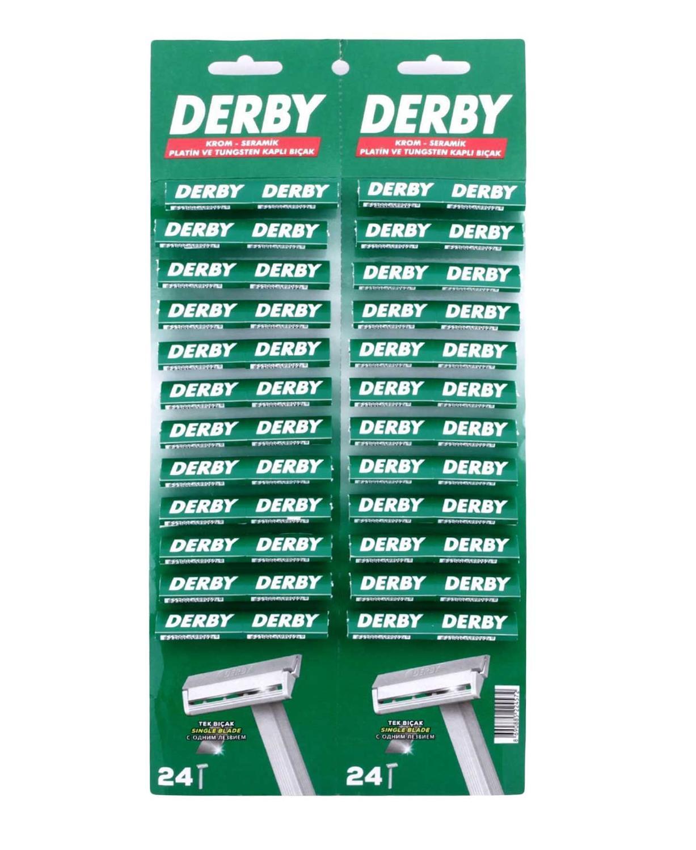Derby Hgd Disposable Razor Blades For Men 48 Pcs Shaving Razor Face Safety Razor Hair Removal Sharp Shaver Blade Tool T-shaver