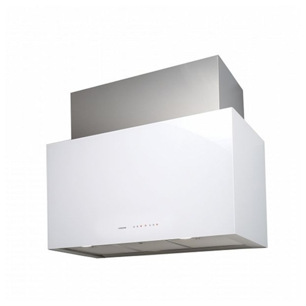Conventional Hood Nodor CUBE GLASS 900 WH 90 cm 645 m3/h 67 dB 200W White