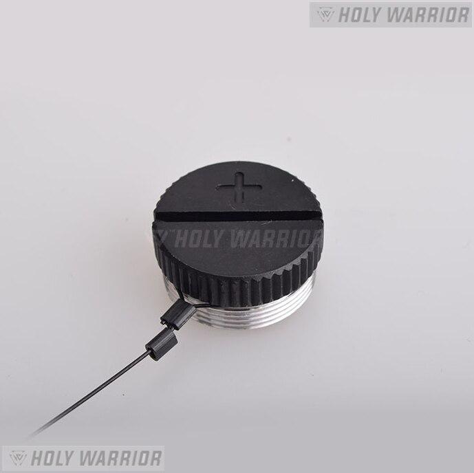 Santo guerreiro exps xps holográfico red dot sight tampa da bateria
